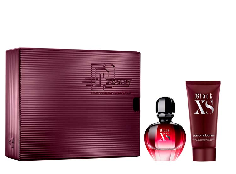 Xs black edp 50 ml + body locion 75 ml estuche- Paco Rabanne