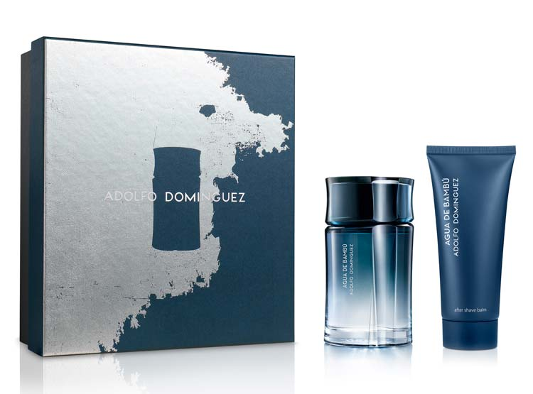 Agua De Bambu Homme EDT 120  ml + 75 ml After Shave Estuche - Adolfo Dominguez