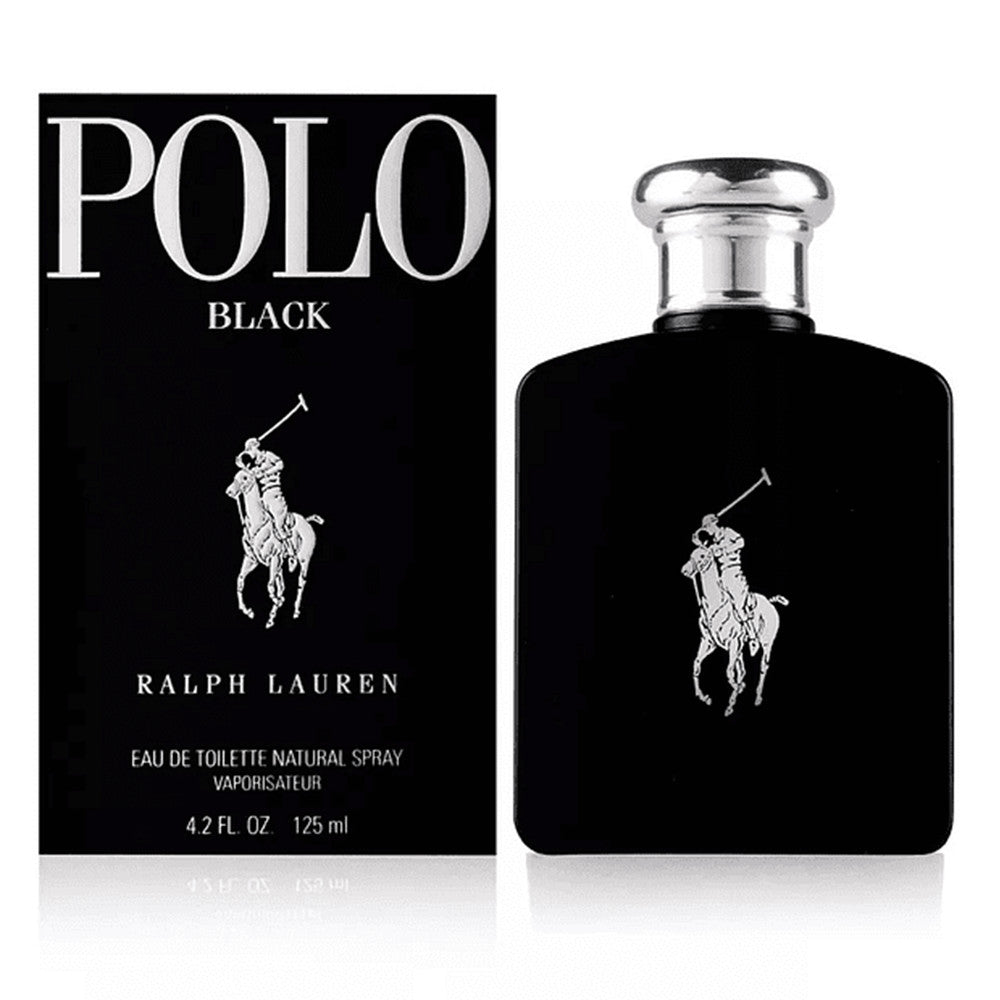 Polo Black EDT 125 ml - Ralph Lauren - Multimarcas Perfumes