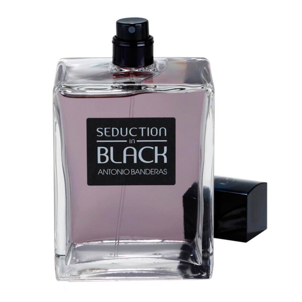Seduction In Black 100 ml Men Tester - Antonio Banderas - Multimarcas Perfumes