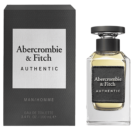 Authentic Man Edt 100 ml - Abercrombie & Fitch