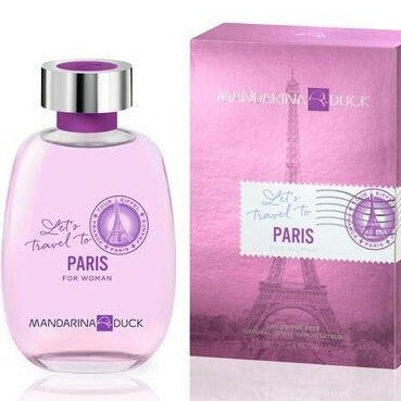 Let's Travel To Paris For Women EDT 100 ML - Mandarina Duck