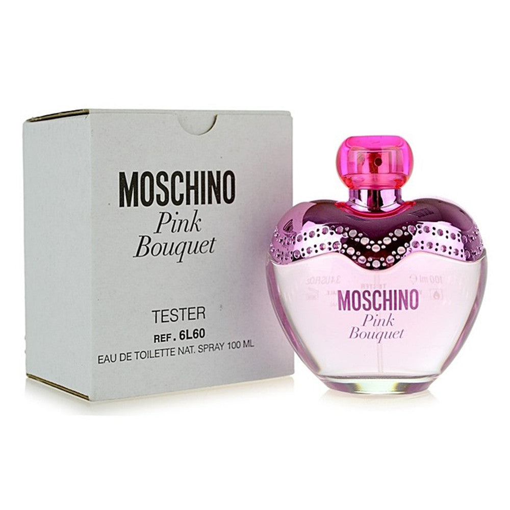 Moschino Pink Bouquet EDT 100ml Tester - Moschino - Multimarcas Perfumes