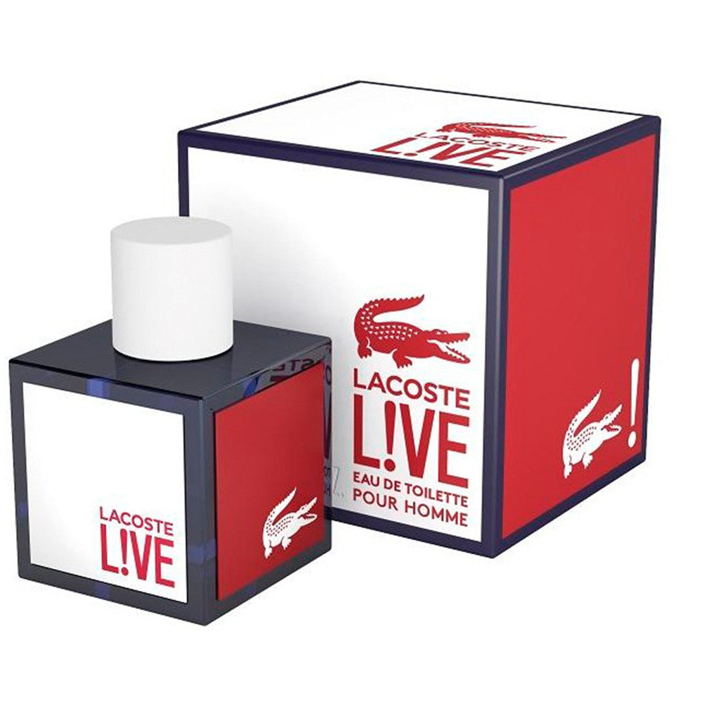 Lacoste Live EDT 100 ml - Lacoste - Multimarcas Perfumes
