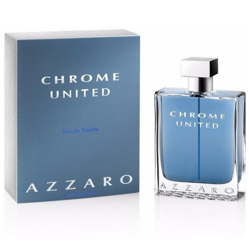 Chrome United EDT 100 ml - Azzaro - Multimarcas Perfumes