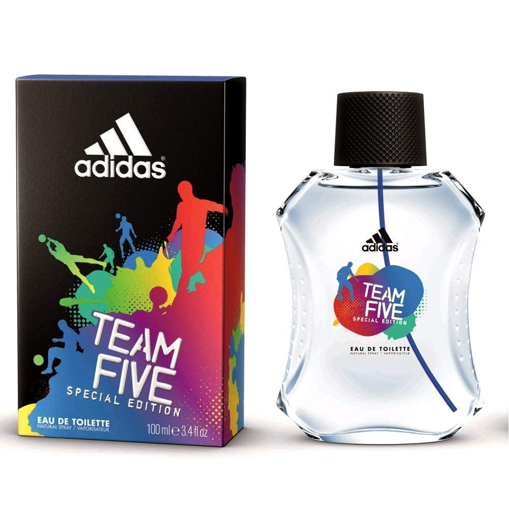 Team Five EDT 100 ml - Adidas - Multimarcas Perfumes
