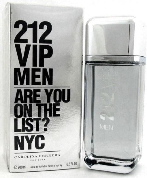 212 Vip Men 200 ml EDT - Carolina Herrera - Multimarcas Perfumes
