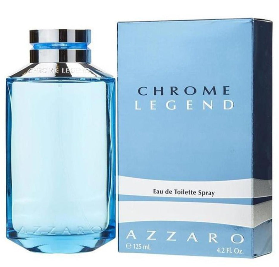 Chrome Legend EDT 125 ml - Azzaro - Multimarcas Perfumes