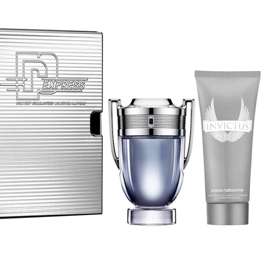 INVICTUS EDT 50 ML +  100 ML GEL ESTUCHE - PACO RABANNE