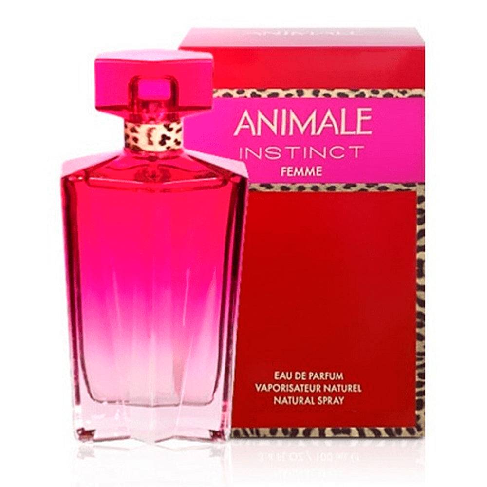 Animale Instinc Femme EDP 100ml - Animale - Multimarcas Perfumes