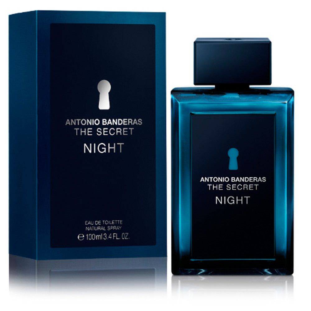 The Secret Night EDT 100 ml - Antonio Banderas - Multimarcas Perfumes