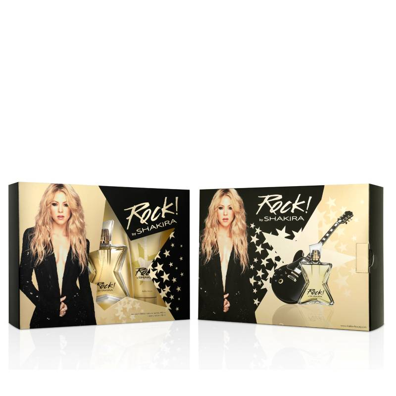 Rock By Shakira EDT 80 ml + Body Lotion 75 ml Estuche - Shakira