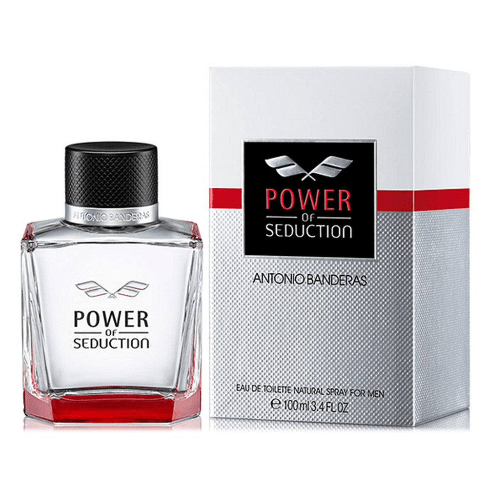 Power Of Seduction EDT 100 ml - Antonio Banderas - Multimarcas Perfumes