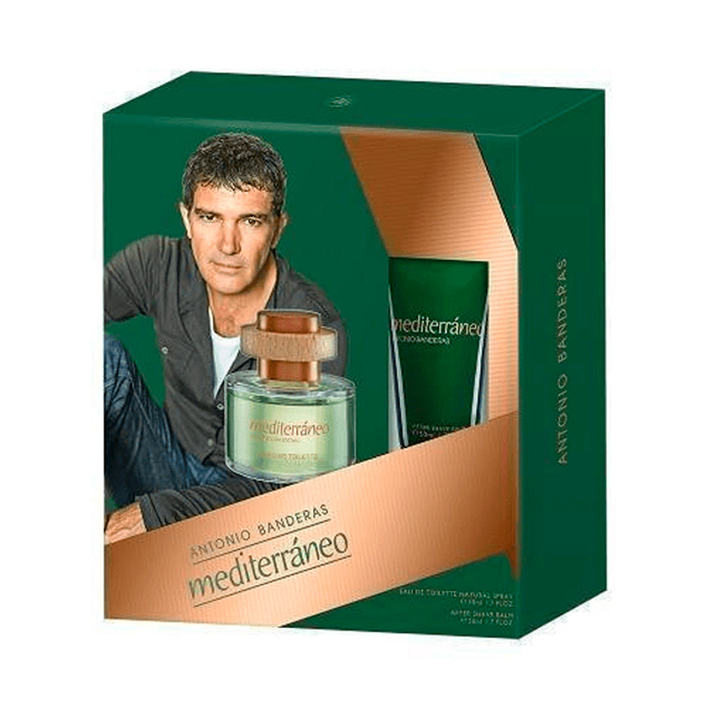 Mediterraneo EDT 50 ml + After Shave 50 ml Estuche - Antonio Banderas - Multimarcas Perfumes