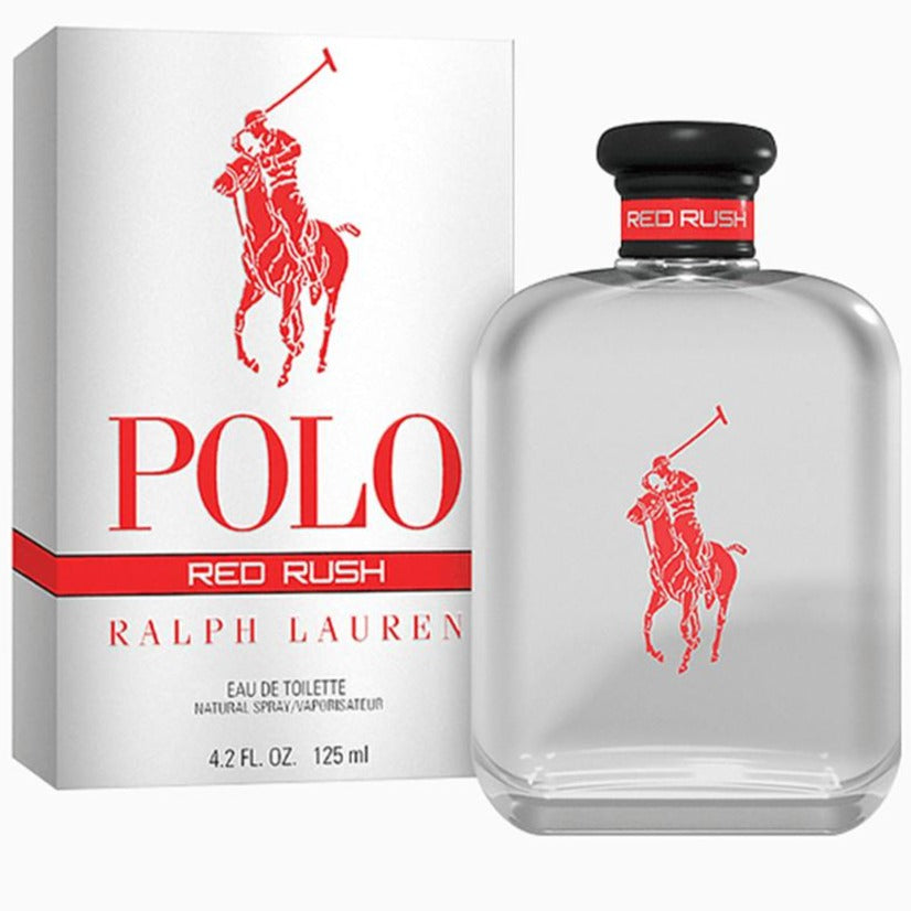 Polo Red Rush EDT 125 ml - Ralph Lauren - Multimarcas Perfumes