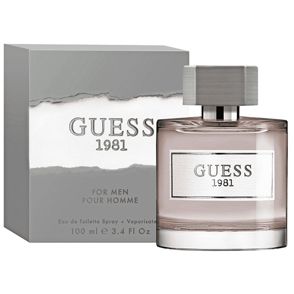 Guess 1981 For Men EDT 100 ml - Guess - Multimarcas Perfumes