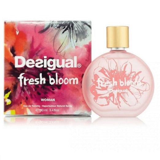 Fresh Bloom Woman EDT 100 ml - Desigual - Multimarcas Perfumes