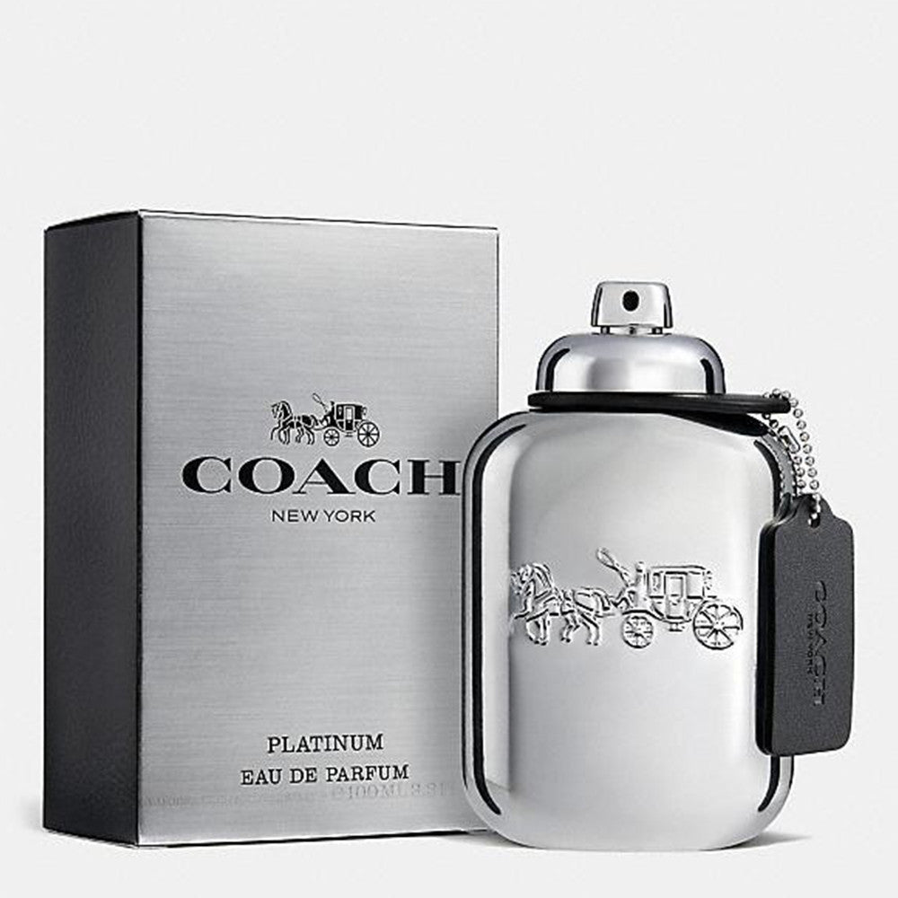 Coach Man Platinum EDP 100 ml - Coach - Multimarcas Perfumes