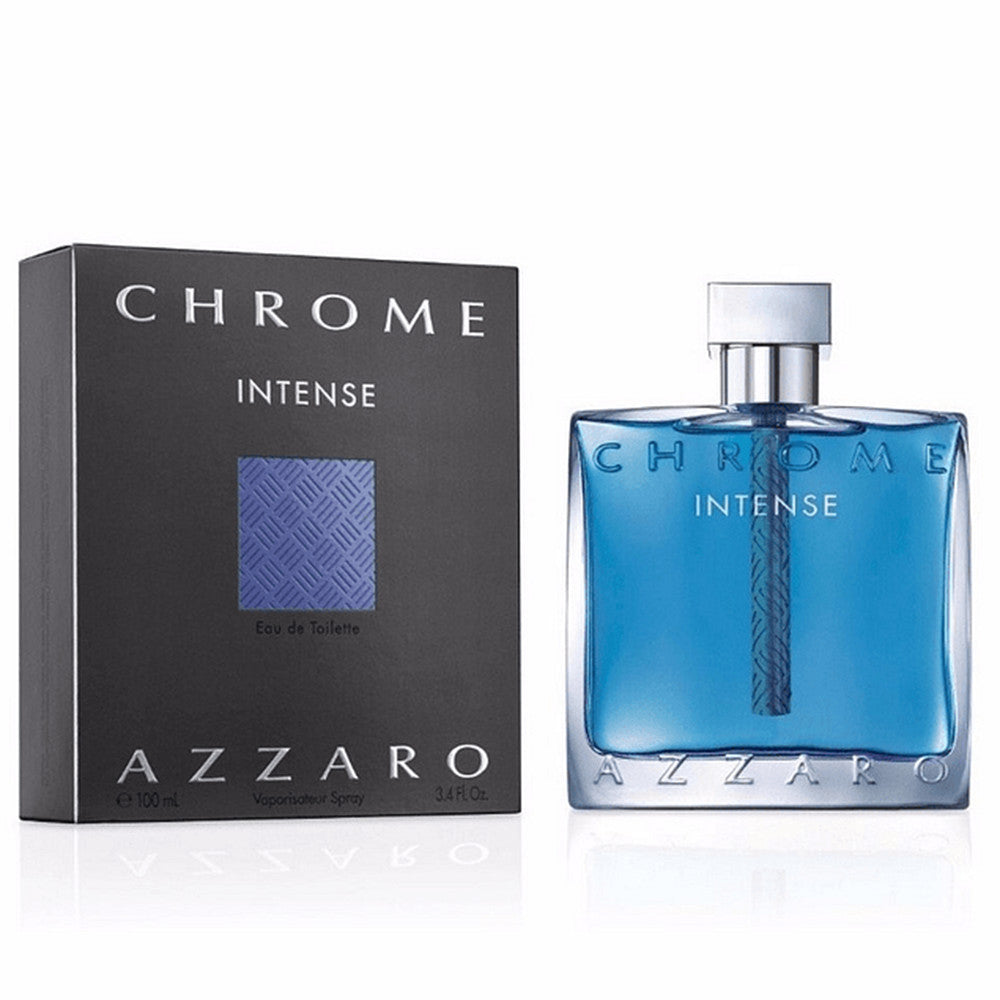 Chrome Intense EDT 100 ml - Azzaro - Multimarcas Perfumes