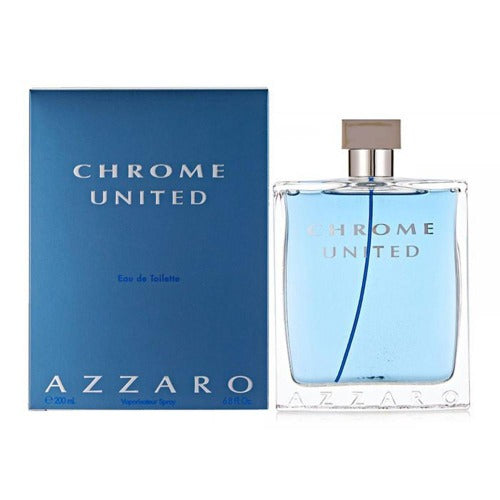 Chrome United EDT 200 ml - Azzaro - Multimarcas Perfumes