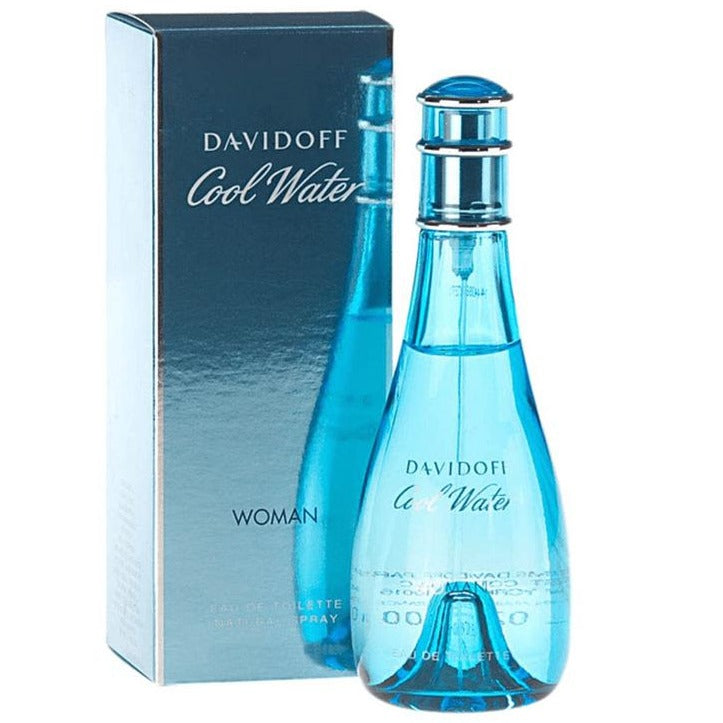 Cool Water Woman EDT 100 ml - Davidoff - Multimarcas Perfumes