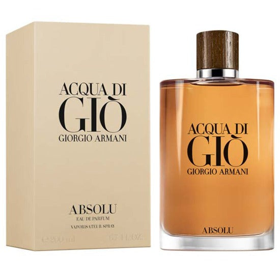 Acqua Di Gio Absolu EDP 200 ml - Armani - Multimarcas Perfumes