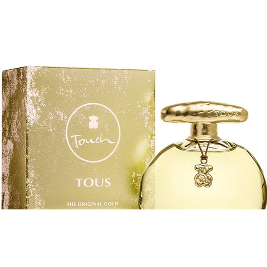 Tous Touch The Original Gold EDT 100 ml - Tous - Multimarcas Perfumes