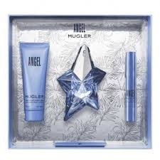 Angel edp 25 ml + pen 3 gr + body lotion 50 ml estuche - Mugler
