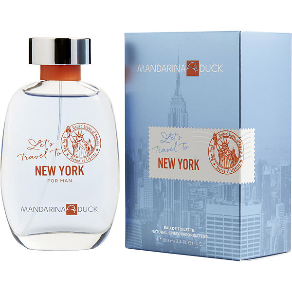 Let's Travel To New York For Man EDT 100 ML -  Mandarina Duck