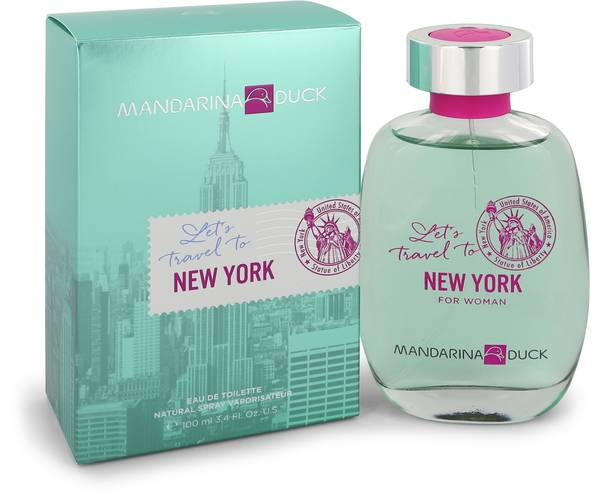 LET'S TRAVEL TO NEW YORK FOR WOMAN EDT 100 ML - MANDARINA DUCK