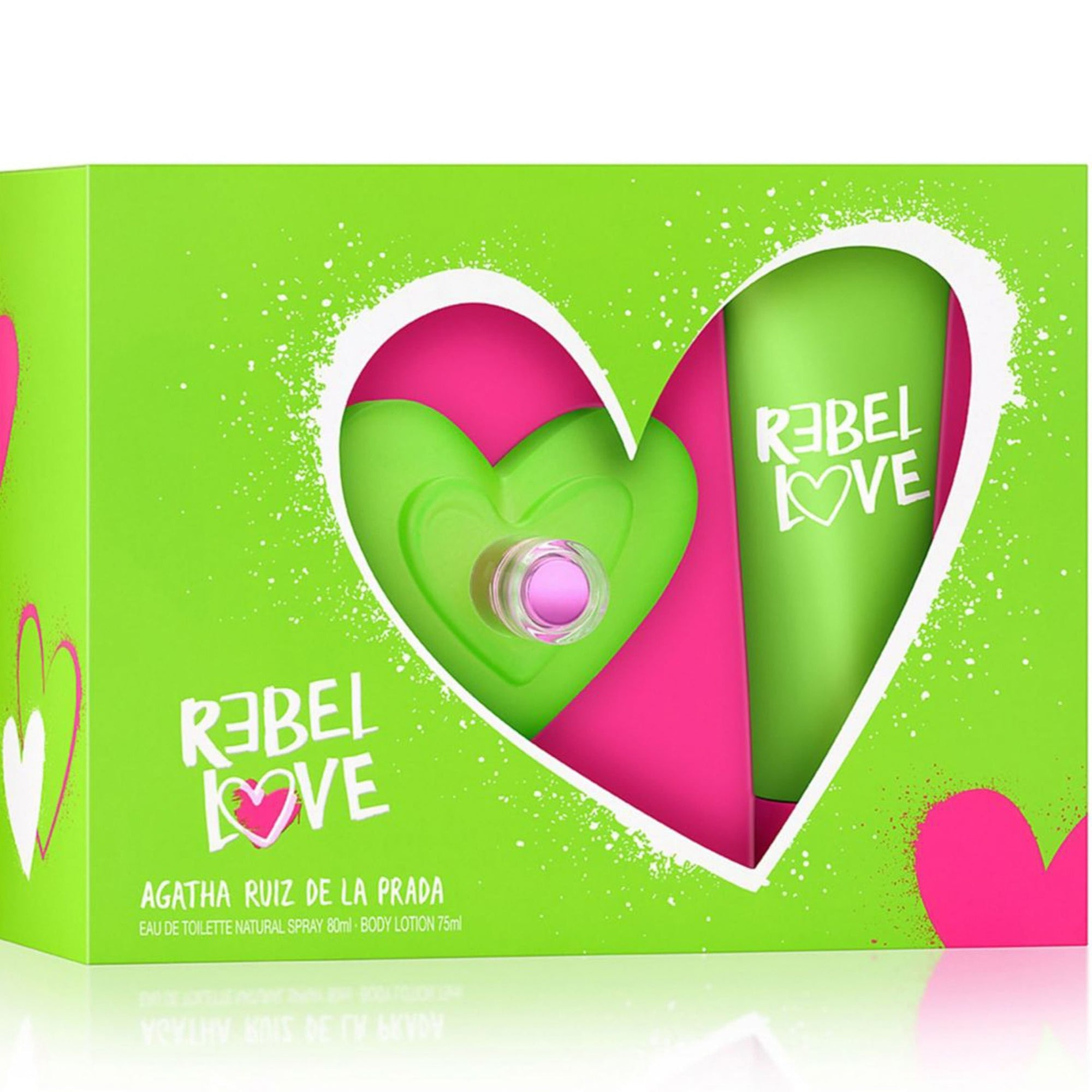 Rebel Love EDT 50 ml + 50 Lotion ml - Agatha Ruiz de La Prada