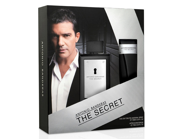 The Secret EDT 100 ml + After Shave 75 ml Estuche -  Antonio Banderas
