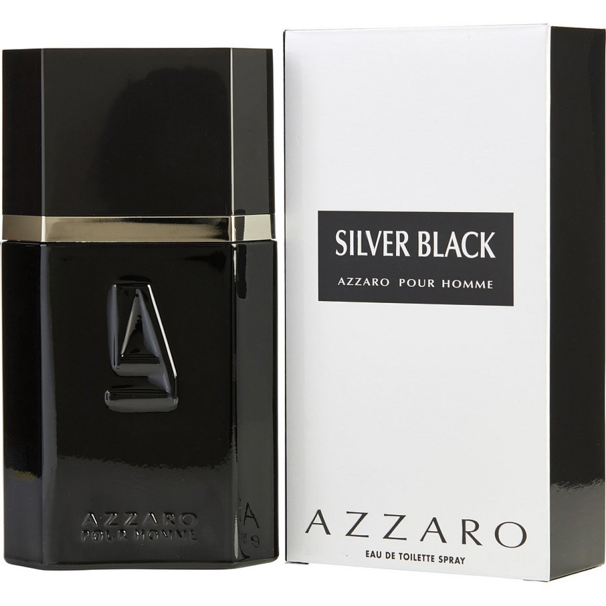 Silver Black EDT 30 ml - Azzaro
