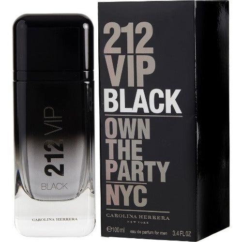 212 Vip Black Men Edp 100 ml - Carolina Herrera