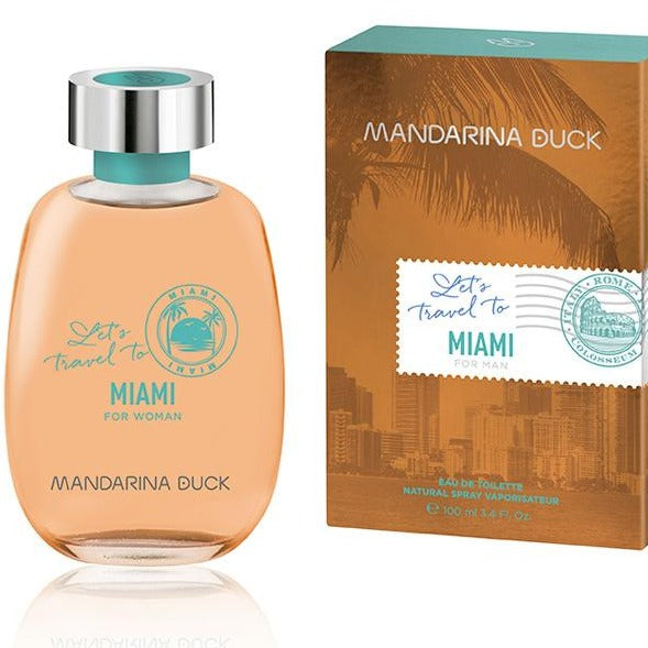 Let's Travel To Miami For Woman EDT 100ML - MANDARINA DUCK