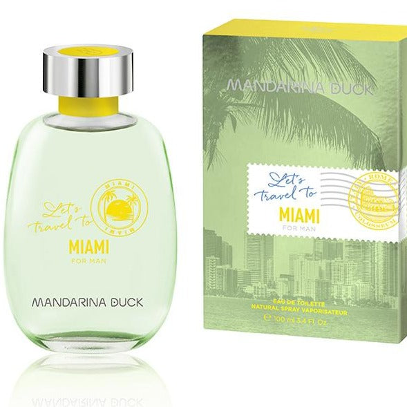 Let's Travel To Miami For Men EDT 100 ML -  Mandarina Duck