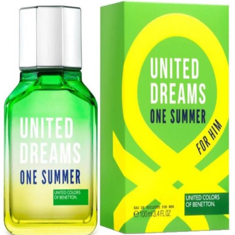 Benetton United Dreams One Summer Edt 100 ml - Benetton (Verde)