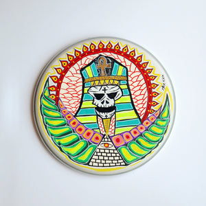 "Max Cavalera Pop Art - 13"" Drumhead - Official"
