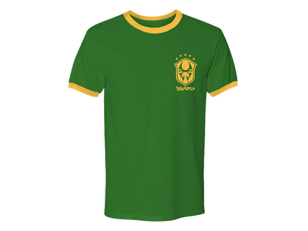 Soulfly Green Soccer Shirt 2020