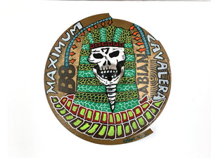 "Max Cavalera Pop Art - 16"" Cymbals - Official"