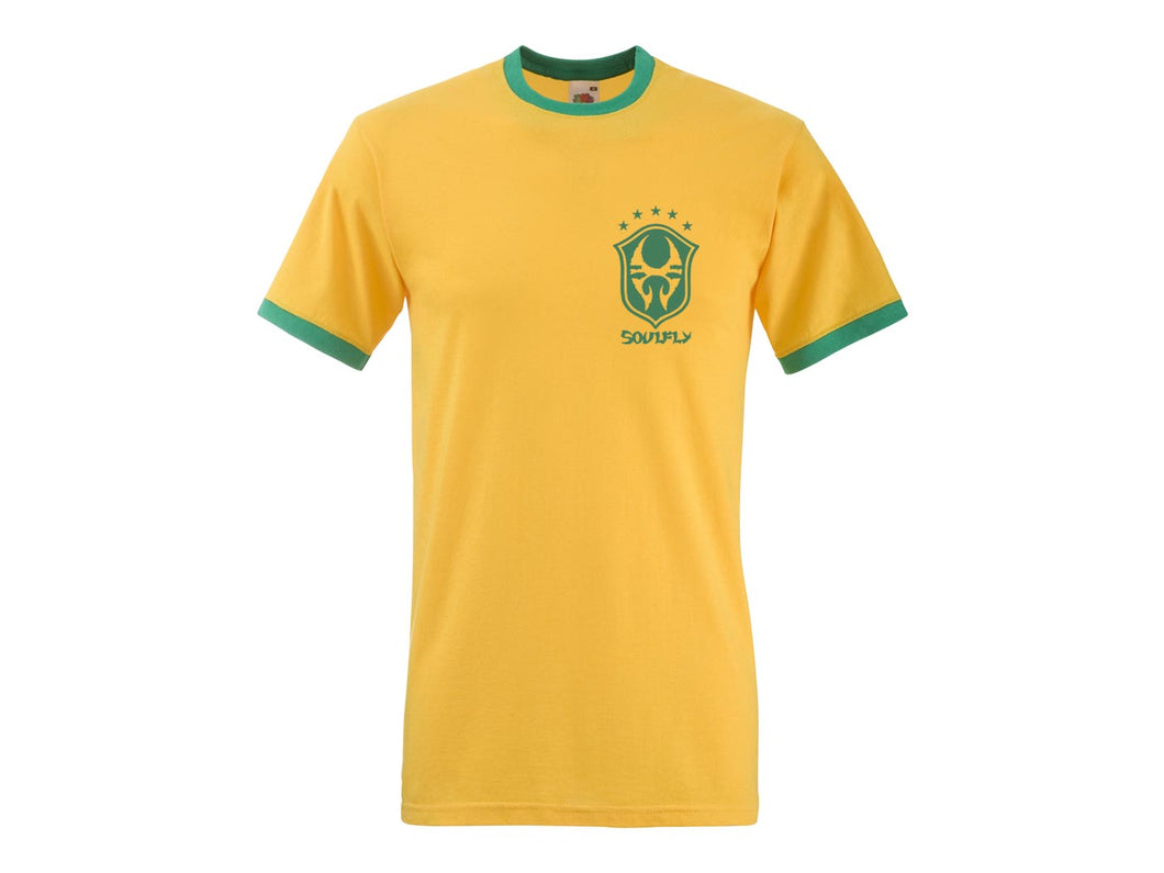 Soulfly yellow soccer shirt (slim fit)