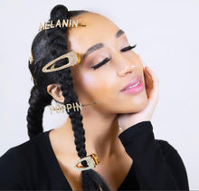 Load image into Gallery viewer, MELANIN Hair Clip