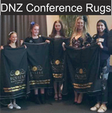 NZ Conference rugs 2019 printed by Signspot Graphics