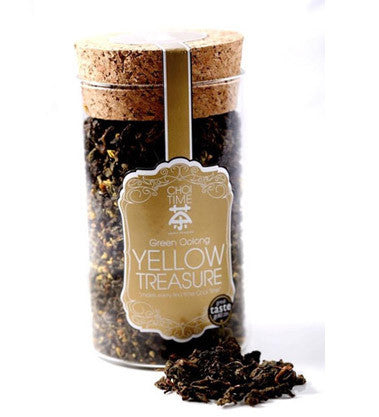 Yellow Treasure - Green Oolong with Osmanthus Flowers