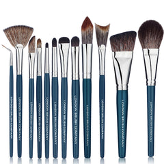 Makeup Brush Set: 12 Piece Vegan NouVeau Pro