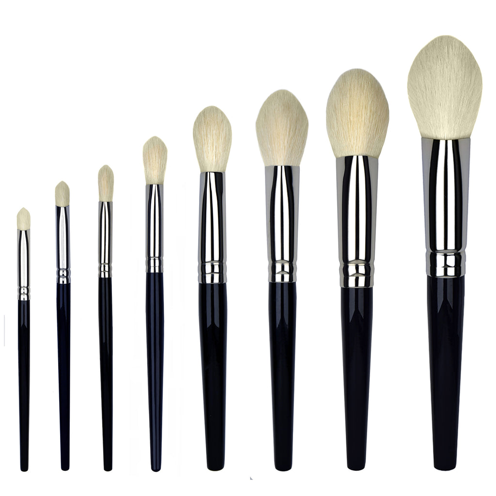 makeup brush set 8 piece best kept secret pro london brush company