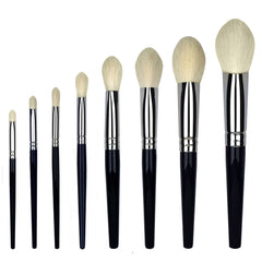 Makeup Brush Set: 8 Piece Best Kept Secret Pro