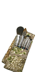 Makeup Brush Pouch Travel: Umber