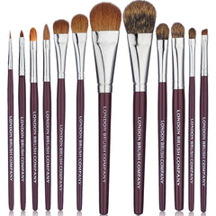 Makeup Brush Set: 12 Piece Classic Pro