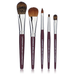 Makeup Brush Set: Classic Travel